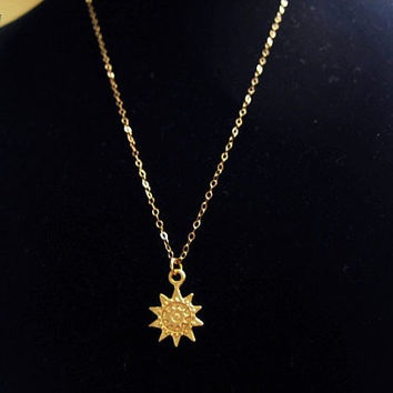 gold-sun-chain-necklace-8