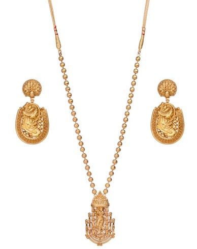 9 Best Temple Gold Jewellery Designs
