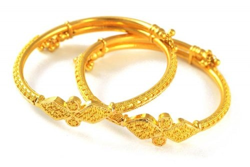 smalle sterling bangles yellow silver vahan products cross bangle gold grande bracelet small diamond style