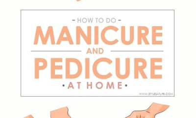 How To Do Manicure And Pedicure At Home