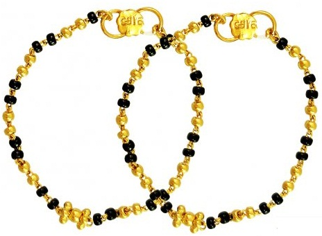 indian-baby-bracelets-with-black-beads3