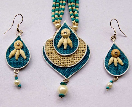 jute-jewellery-designs-handmade-jute-chain-set
