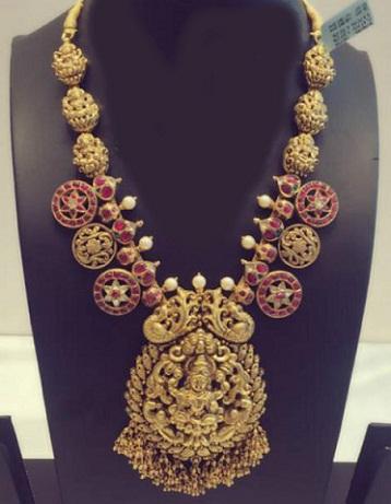 kundan-gold-temple-lakshmi-necklace