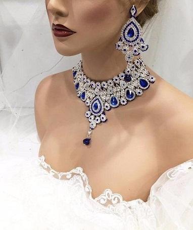 Kundan Bridal Pearl Choker Set