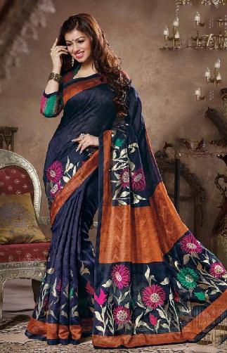 latest-designer-sarees-bhagalpuri-saree