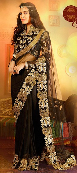 latest-designer-sarees-black-beauty-saree