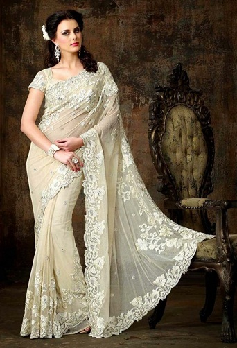 latest-designer-sarees-pearl-colour-designer-saree
