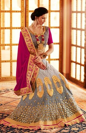 latest-designer-sarees-pink-and-grey-designer-saree