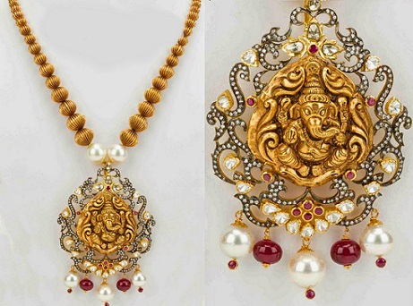 lord-ganesha-nakshi-necklace