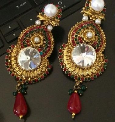 panchaloha-jewelry-long-dangle-bridal-earring