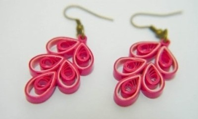 How To Make Different Types Of Quilling Earrings
