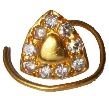 piercing-gold-and-diamond-studded-trillion-nose-pin-design15