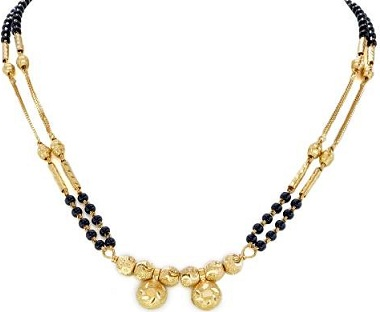 Small Mangalsutra Design In gold