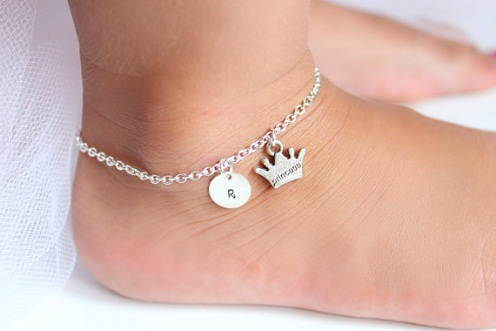 15 Traditional Silver Anklets for Girls