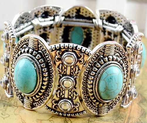 silver-bangle-designs-turquoise-silver-bangle