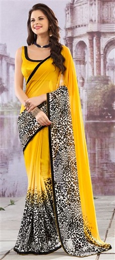 simple-black-design-saree
