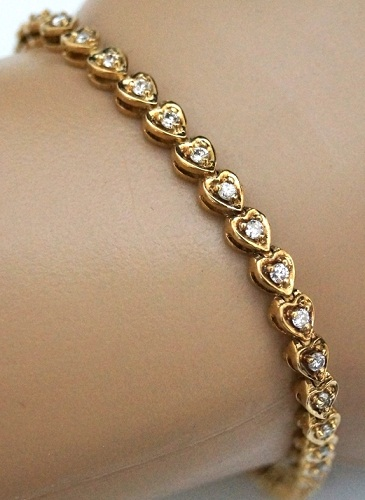 solid-white-and-yellow-gold-tennis-bracelet5