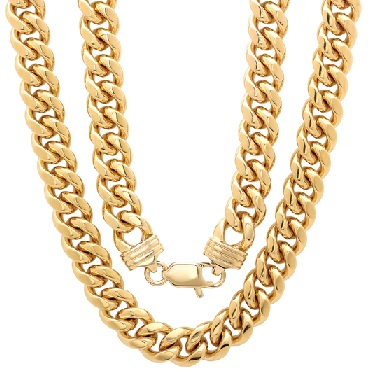 25 Latest Gold Chain Designs For Men To Look And Feel More