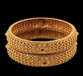temple-jewellery-bangle-designs-dotted-and-beaded-temple-bangle