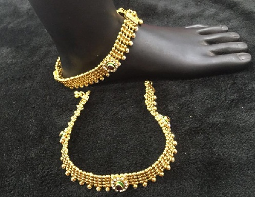 temple-jewellery-designs-temple-design-anklet