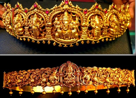 temple-jewellery-designs-temple-designed-lord-ganesh-waist-belt