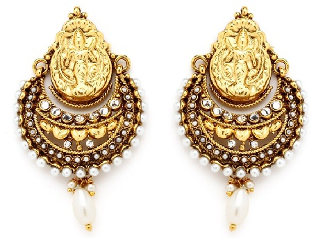 9 Latest Temple Design Earrings | Styles At Life