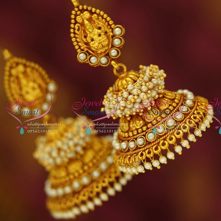 9 Latest Temple Design Earrings Styles At Life