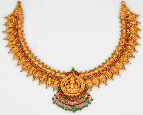 9 latest temple jewellery necklace designs styles at life temple jewellery necklace aloadofball