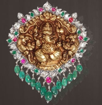 temple-jewellery-pendants-pendant-with-lord-ganesha-emblem-embossed