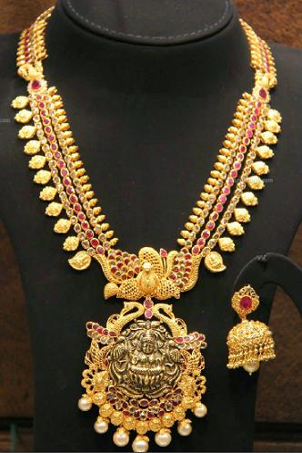 temple-jewellery-sets-temple-mango-mala-set
