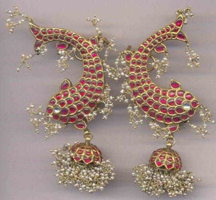 temple-jewelry-jhumka-lovely-fish-on-the-jhumka