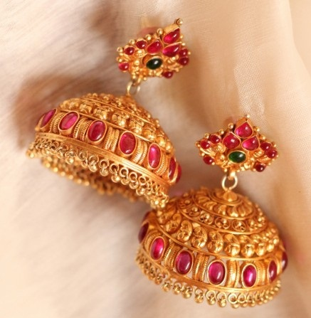 temple-jewelry-jhumka-short-jhumka-temple-jewelry