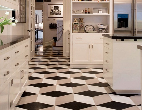 3D Technology used for Kitchen Tile