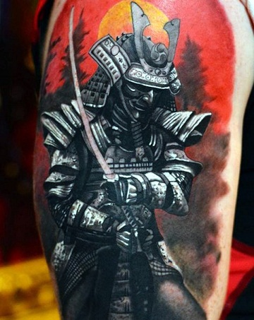 30 best warrior tattoo designs and meanings with pictures styles at life. Black Bedroom Furniture Sets. Home Design Ideas
