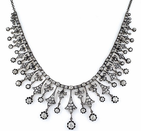 antique-diamond-necklaces