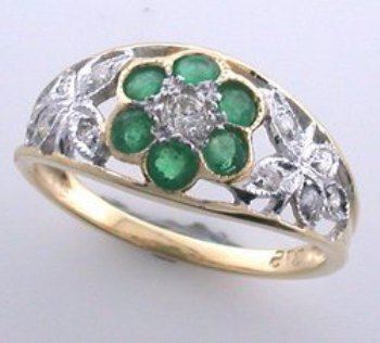 antique-emerald-ring