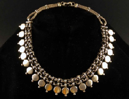 Top 25 indian antique jewellery designs for women antique silver necklaces aloadofball Choice Image