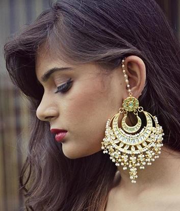 9 Beautiful Designer Big Earrings for Women