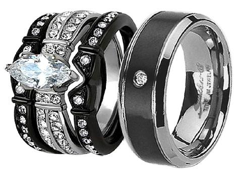 black-titanium-rings-for-couples