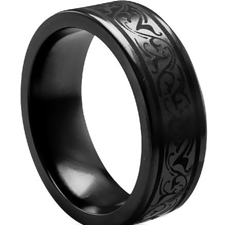 black-titanium-rings-for-men