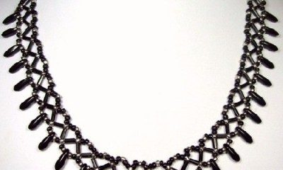 black-beaded-necklace