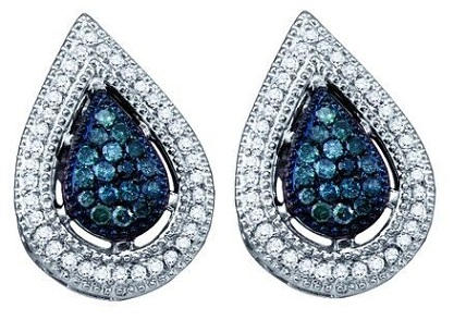 blue-diamond-earrings-leaf-shaped