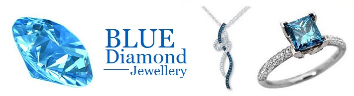 blue diamond jewelry