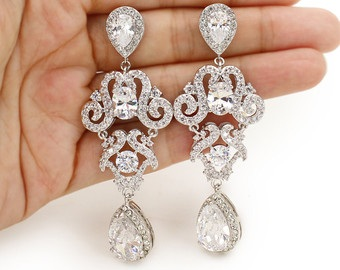 bridal-platinum-earrings