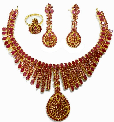 bridal-ruby-jewellery-set