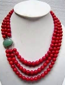 9 indian simple coral necklace designs for ladies coral necklace 1 mozeypictures Image collections