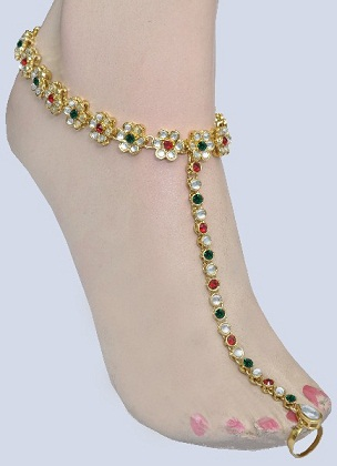 colourful-toe-ring-anklet