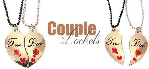 c48d19beec 10 Cute Couple Lockets Jewellery Designs | Styles At Life
