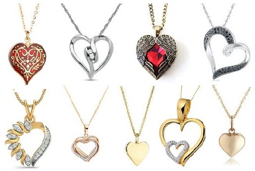 9 Different Types of Heart Pendants with Pictures