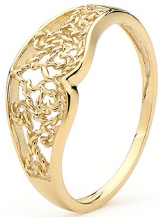 Finger Rings Gold